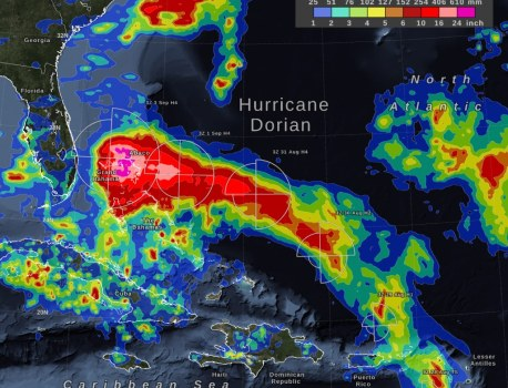 Hurricane Dorian Science, a Vaping Mouse Experiment, and More News