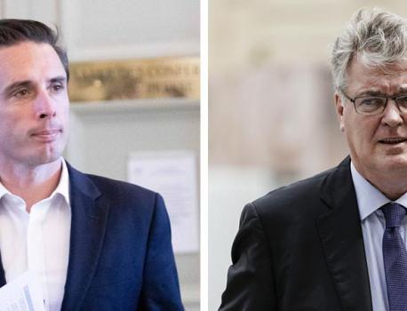 INFO FRANCEINFO. Le haut-commissaire à la réforme des retraites Jean-Paul Delevoye et le député Jean-Baptis… – franceinfo