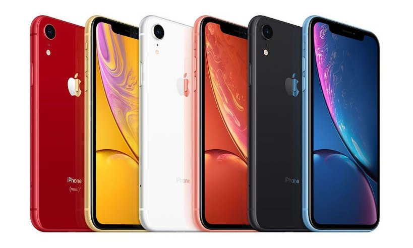 Coloris iPhone XR