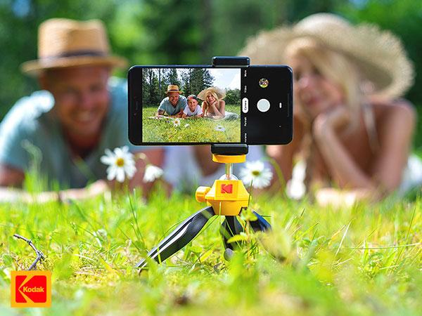 kodak smartphone photography kit iphone accessoires 02 - Kit Photo Kodak de 5 Accessoires pour iPhone et Smartphones