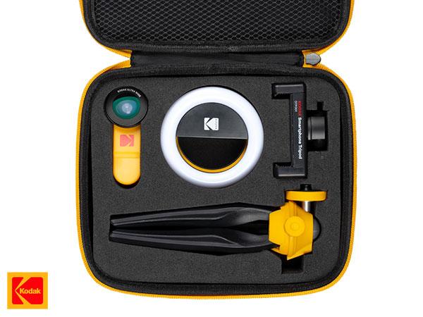 kodak smartphone photography kit iphone accessoires 07 - Kit Photo Kodak de 5 Accessoires pour iPhone et Smartphones