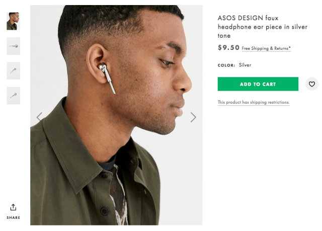 faux AirPods Apple