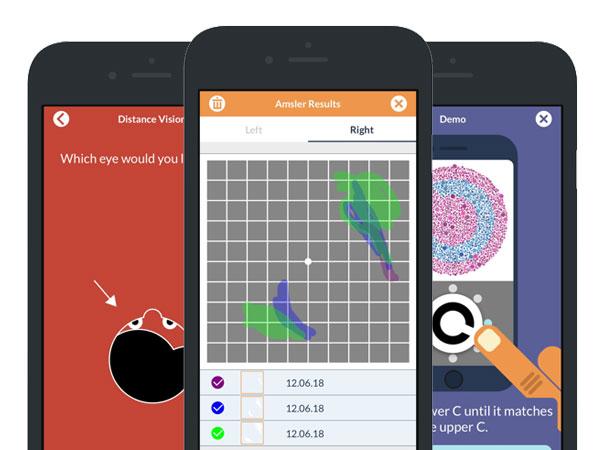 looc mobile eye test iphone ipad 02 - LooC iPhone iPad - Tester votre Vue comme un Opticien (gratuit)