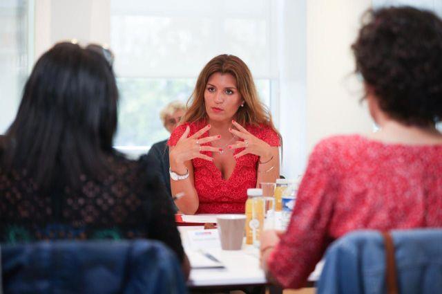 « Plus de 800 amendes pour outrage sexiste ont été dressées en un an », souligne Marlène Schiappa./LP/Olivier Arandel