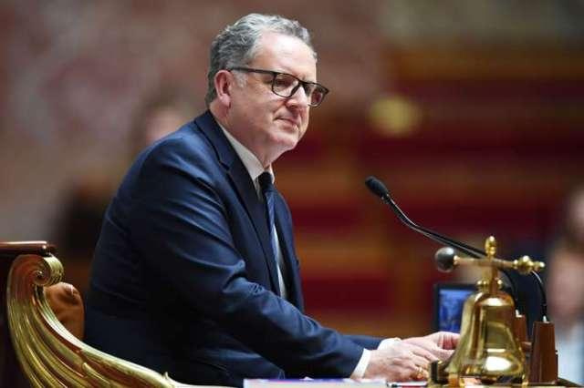 Le président de l'Assemblée nationale, Richard Ferrand, lors d'une séance de questions au gouvernement, à Paris, le 10 septembre.