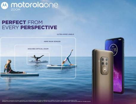 Motorola One Zoom announced with 48MP quad camera system