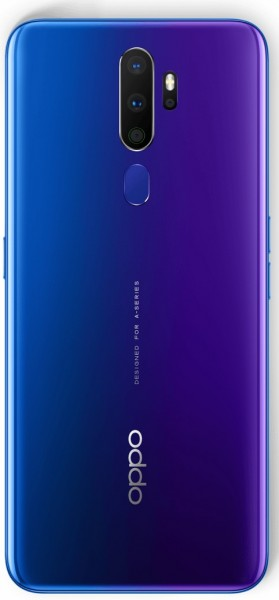 Oppo A9 (2020) in Space Purple color