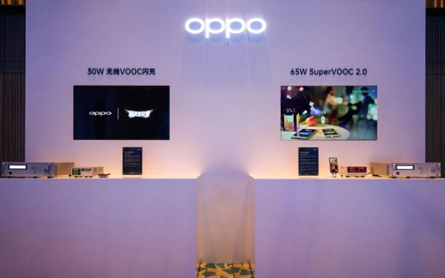 Oppo's 65W SuperVOOC is official, also introduces 30W Wireless VOOC Flash Charge