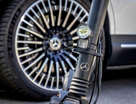 Oui, vous pourrez bientôt rouler en trottinette électrique Mercedes-Benz