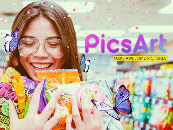 picsart photo collage studio iphone ipad 1 - PicsArt Collage iPhone iPad - Création Photo et Video (gratuit)