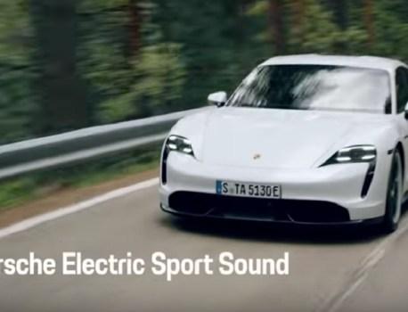 Porsche Taycan: une drôle d'option qui fait polémique
