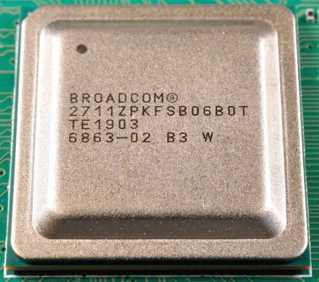 BCM2711 chip on Pi4B