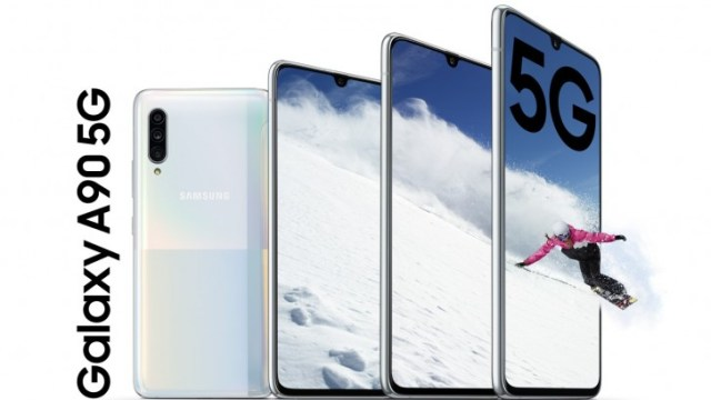 Samsung Galaxy A90 5G goes official: Snapdragon 855 SoC, 48MP camera, 6.7'' display