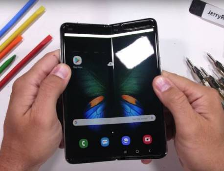 Samsung Galaxy Fold Durability Test: See if it's tough or fragile