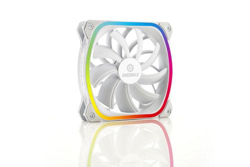 Ventilateur SquA RGB White d'Enermax