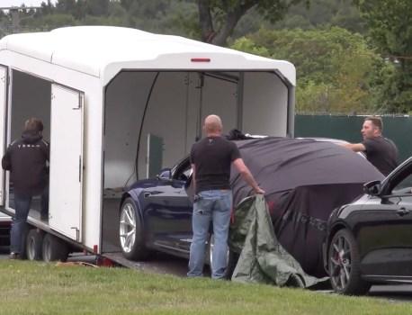 Tesla aurait explosé le record détenu par la Porsche Taycan à Nürburgring