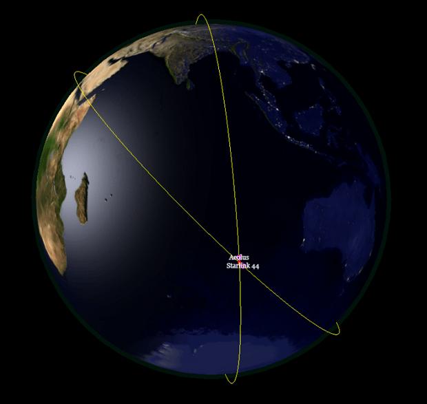 Un satellite de l�ESA s�offre un dérapage contrôlé pour éviter un satellite SpaceX