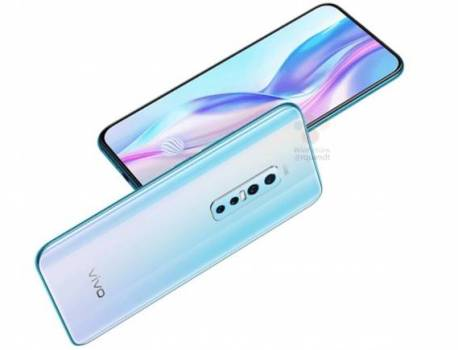 Vivo V17 Pro image renders show dual selfie pop-up camera design