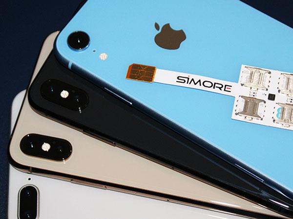 adapteur coque 4g iphone xr x quadruple multi carte sim maxiapple 02 - Voici Comment Utiliser 4 Cartes SIM sur un iPhone 11 (video)