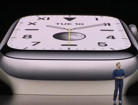 Voici la grande nouveauté de la nouvelle Apple Watch Series 5