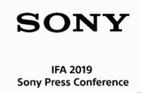 Watch the Sony IFA 2019 live stream here