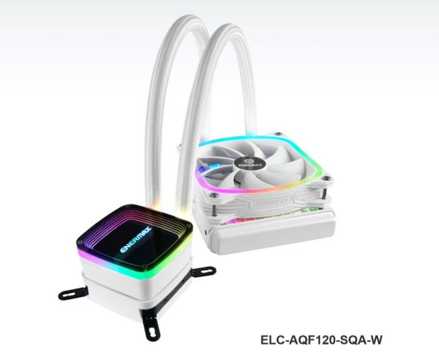 Watercooling AIO AquaFusion 120 White (ELC-AQF120-SQA-W)