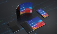 LG's rollable smartphone pictured in 3D renders