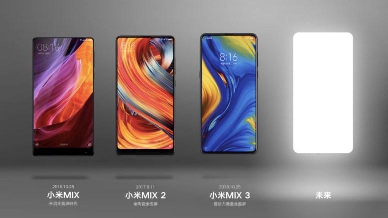 Xiaomi Mi Mix 4 Teaser