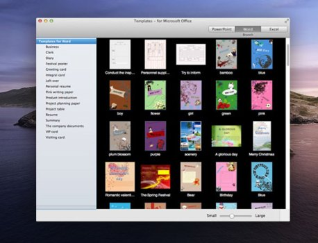 360 Modèles Mac pour MS Word, PowerPoint, Excel (gratuit)