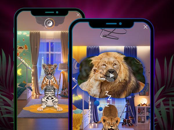 animar jeu iphone ipad 02 - Animar iPhone iPad - Un Vrai Zoo en Réalité Augmentée (gratuit)
