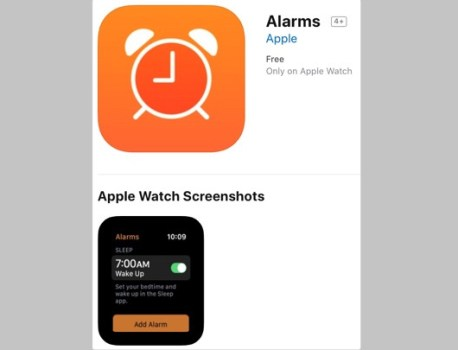 Apple Watch Sleep app gets name-dropped inside another smartwatch app