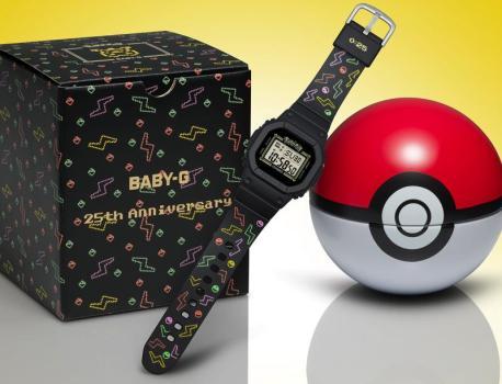 Casio x Pokémon: une nouvelle montre Baby-G collector pour la fin d'année!