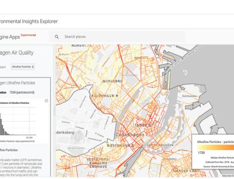 Ce nouvel outil de Google vous permet de visualiser la pollution urbaine