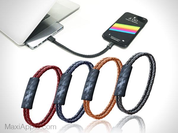 pd charging bracelet mode cable chargeur lightning usb c 01 - Cet Elégant Bracelet est un Cable Lightning Universel (video)