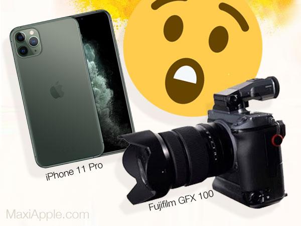 comparatif iphone 11 vs pro appareil photo fujifilm gfx 100 01 - Comparatif entre l'iPhone 11 Pro et le Fujifilm GFX à 100 MP (video)