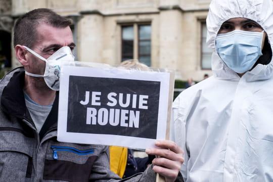 DIRECT - Incendie de Rouen: le point sur les menaces qui persistent