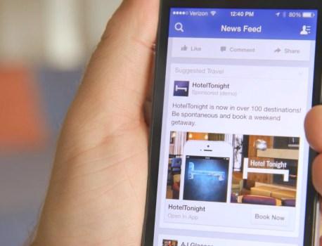 Facebook déploie les publicités dans ses résultats de recherche