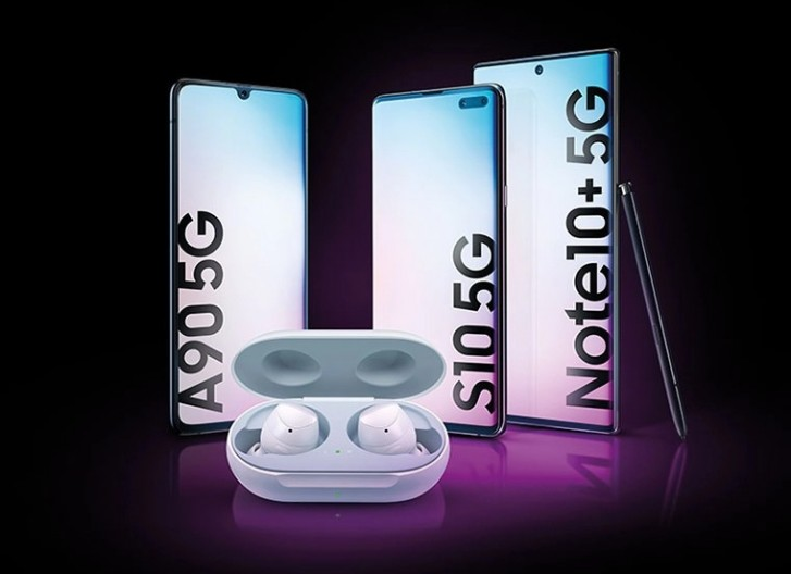 Get a free pair of Galaxy Buds in the UK if you buy a Galaxy Note10, S10, or A90 5G