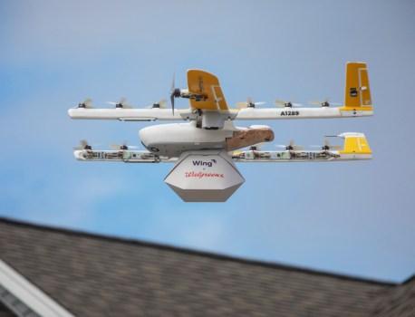 Google réalise sa première livraison en drone avec Wing