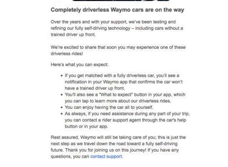 Google vient de franchir une étape cruciale sur la voiture entièrement autonome