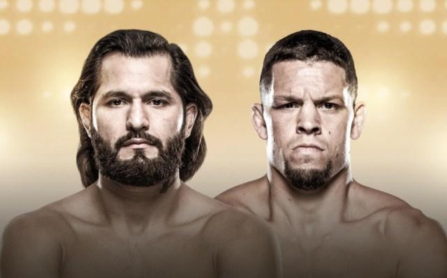 UFC 244 Promotional Splash Masvidal and Diaz