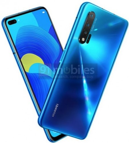 Leaked render of Huawei nova 6