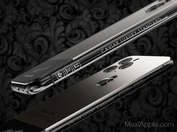 caviar iphone 11 pro superior jobs maxiapple 05 - iPhone 11 Pro en Hommage à Steve Jobs chez Caviar