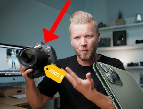 iPhone 11 Pro vs Canon 1DX Mark – Le Résultat va vous Surprendre (video)