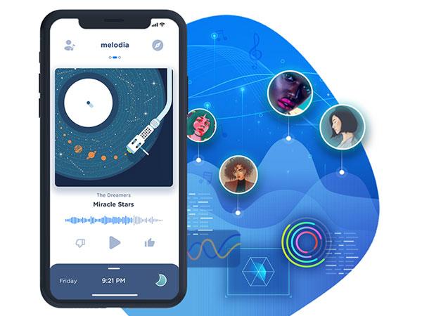 melodia music iphone 02 - Melodia Music iPhone - Lecteur Musical et Radio Intelligente (gratuit)