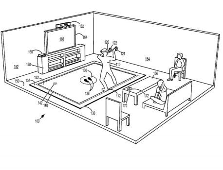 Microsoft imagine un tapis pour les casques de réalité virtuelle