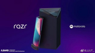 Motorola RAZR 2019 leaked renders