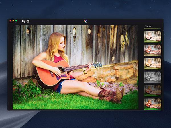 photo effects pro macos mac 1 - Photo Effects Pro Mac - 270 Filtres et Effets Photo Pros (gratuit)