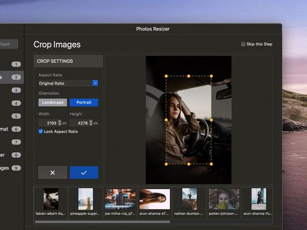 photos resizer resize images macos mac 03 - Photos Resizer Mac - Redimensionner vos Photos par Lot (gratuit)