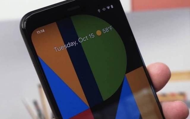 Pixel 4 Google 90Hz Display